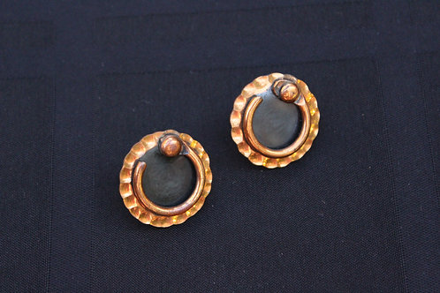 Renoir of California Copper Earrings