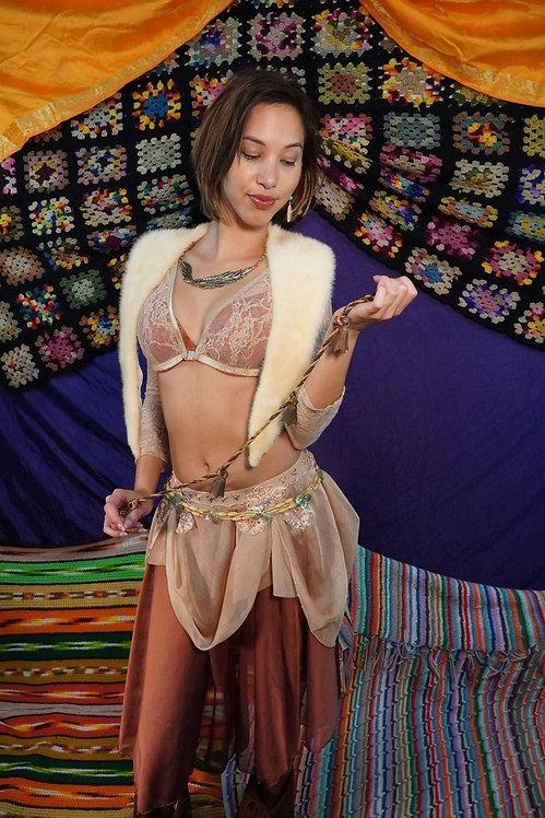 Fairy Mama Sheer Embellished Dance Skirt - XS/S