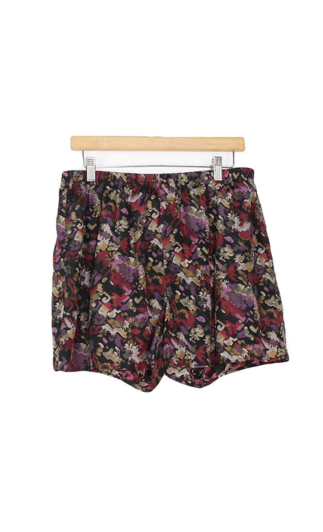 00s Abstract Floral Silk Boxers - M/L