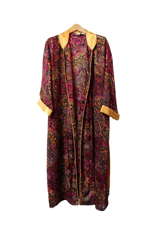 90s VS Sheer Paisley Robe - M/L/XL