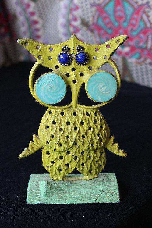Retro Owl Earring Holder