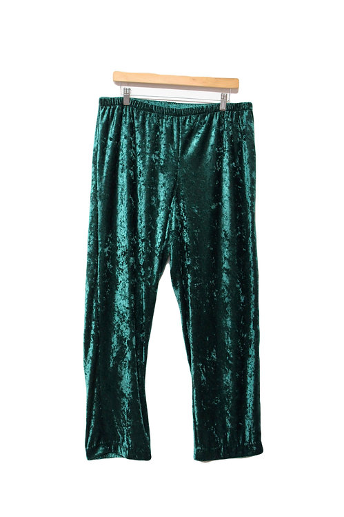90s Crushed Velvet Lounge Pants - L/XL