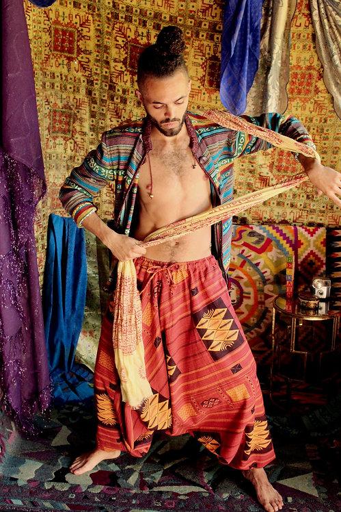 Tribal Style Harem Pants -XS/S/M