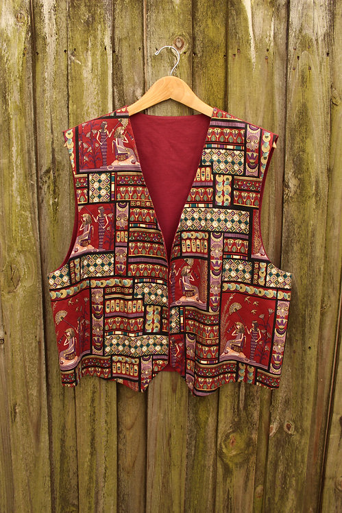 Ancient Egyptian Pictograph Vest - L/XL