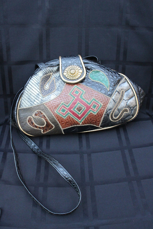 90s Southwestern Crossbody Purse