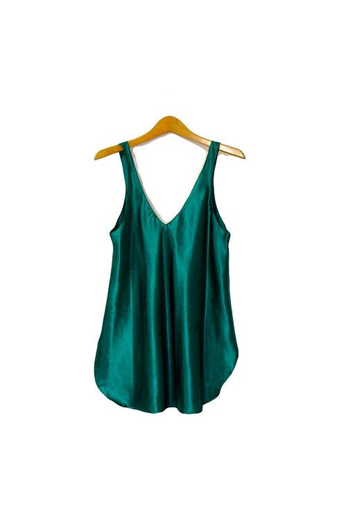 90s Simple Slip Dress - M/L