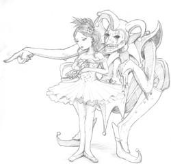 Ballerina & Jester