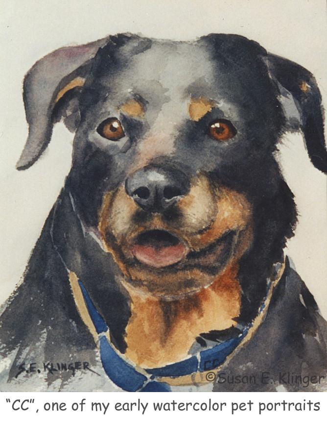 An early pet portrait