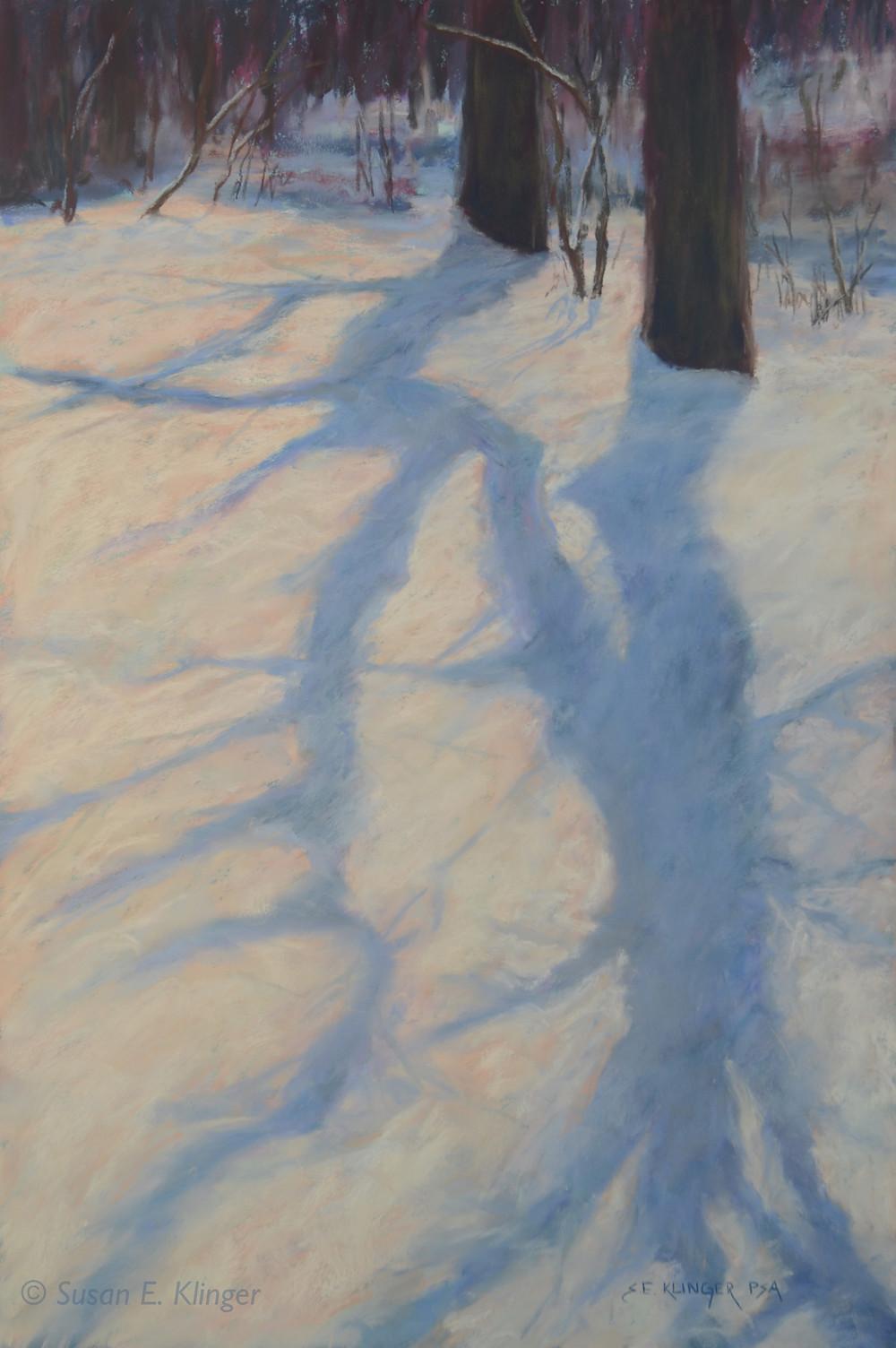 """Wintry Shadows"""
