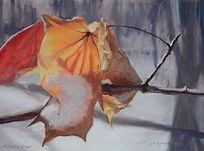 """""""Autumn's Last Stand"""", pastel"""