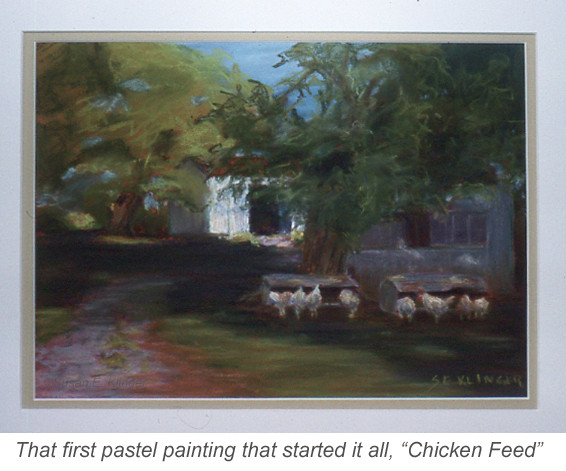 Chicken Feed, pastel