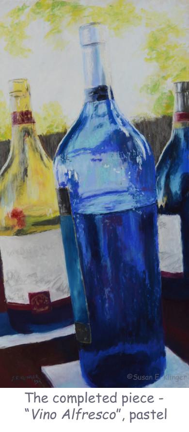 """Vino Alfresco"", pastel"