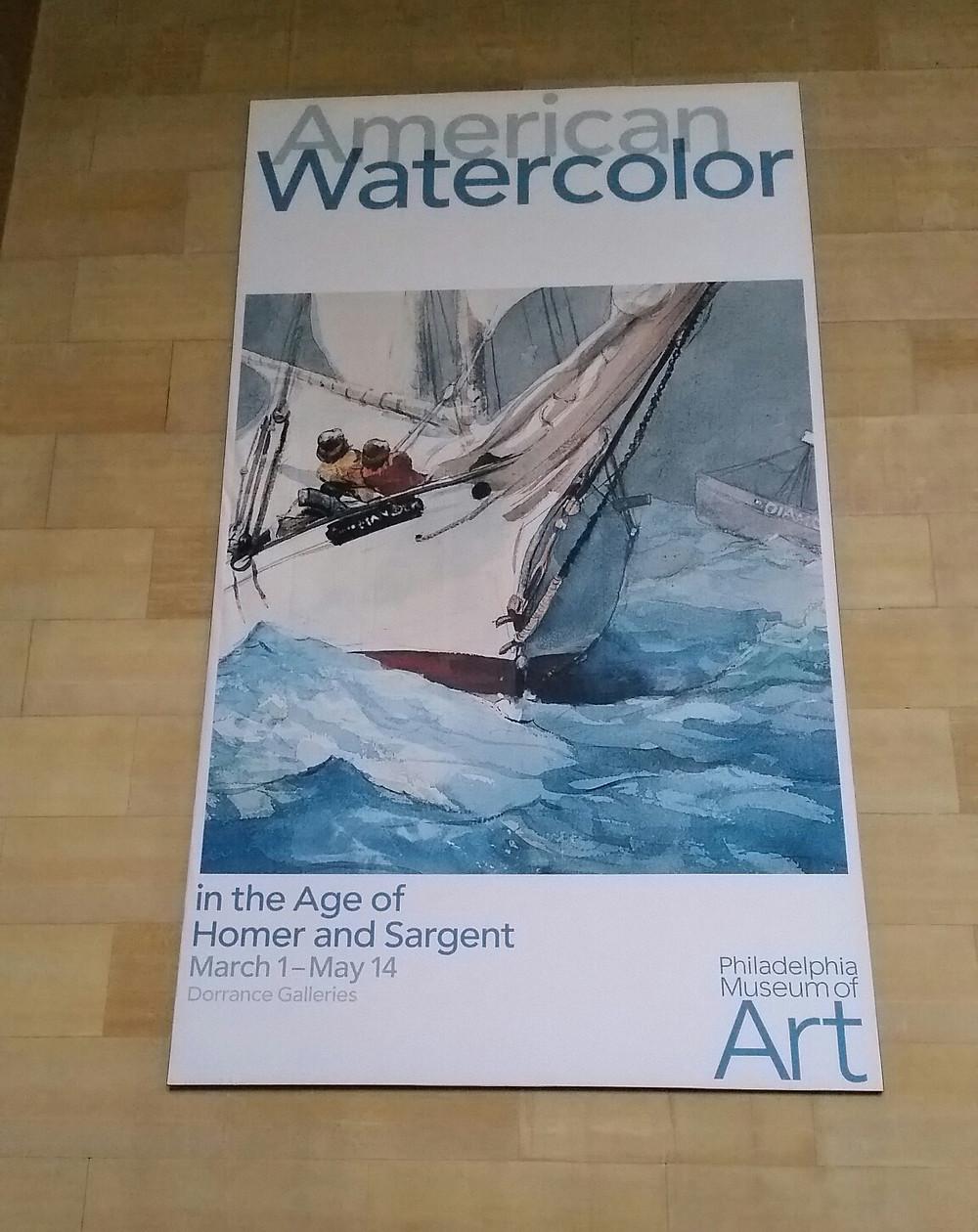 American Watercolor banner