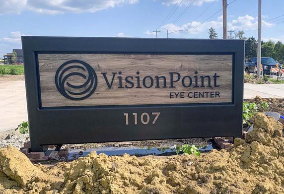 Vision Point exterior push thru acrylic_