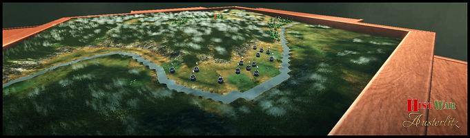 Wargame : Vue 3D tactique