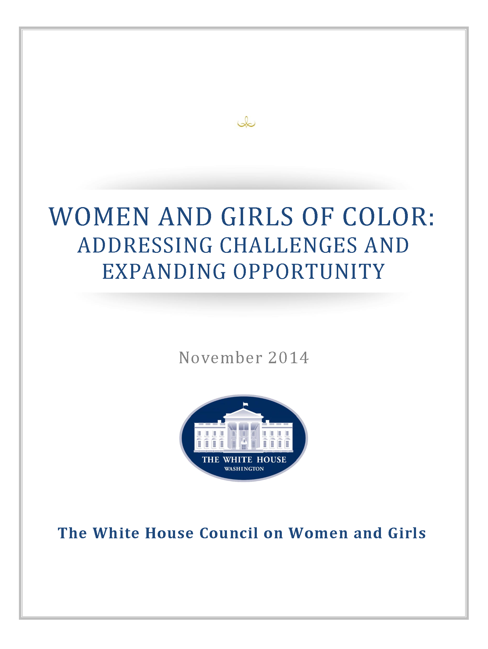 Women and Girls of Color