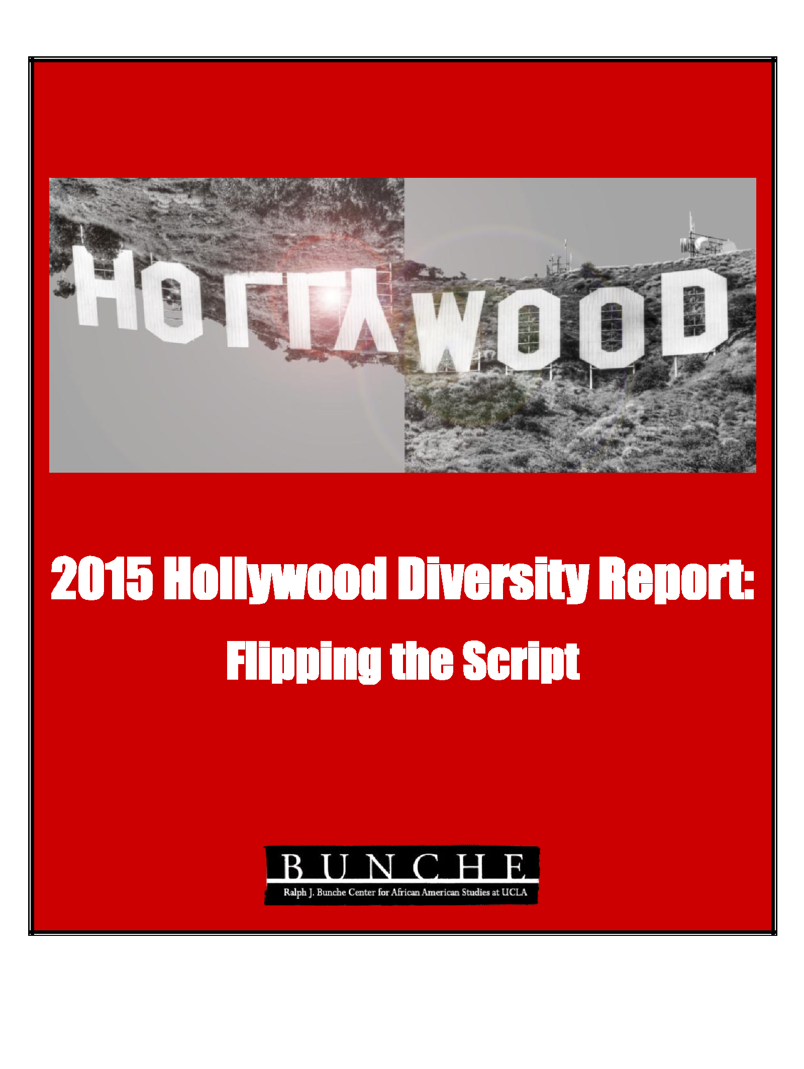 Hollywod Diversiry Report