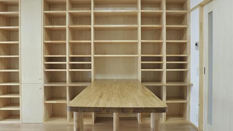 本と畳を楽しむ家
