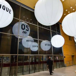Ballon inauguration event
