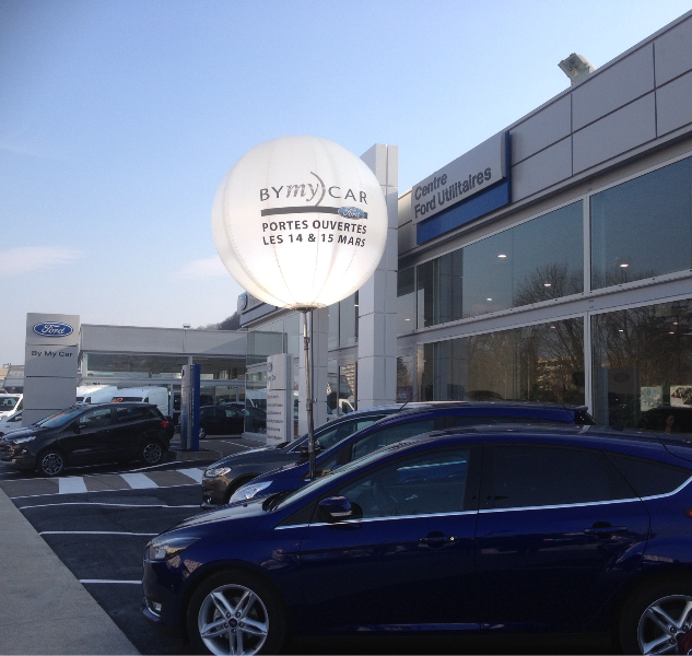 Ballon event Ford