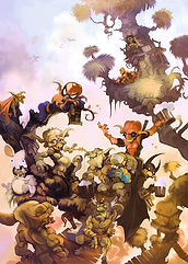 Gobelin-super-héros-illustration-fantasy-fantastique-jeanbrisset