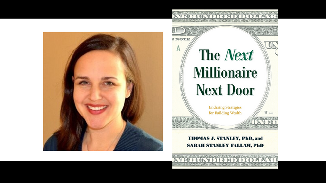EP110 The Millionaire Next Door's Lens On Today's Market Chaos With Dr. Sarah Fallaw