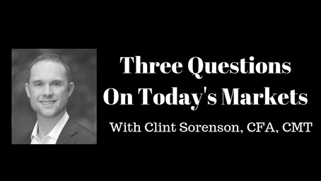 3 Questions On Today's Markets (10-12-18) With Clint Sorenson