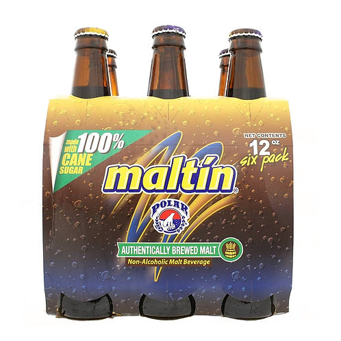 Malta Polar Glass Bottle 6/12 Oz