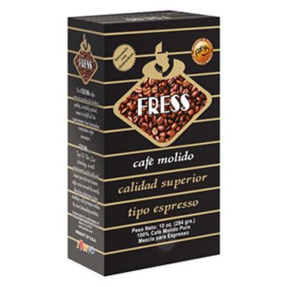 Fress Ground Coffee Espresso  - 10 Oz