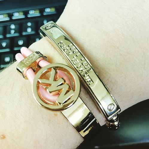 MK bracelet with Elastic band