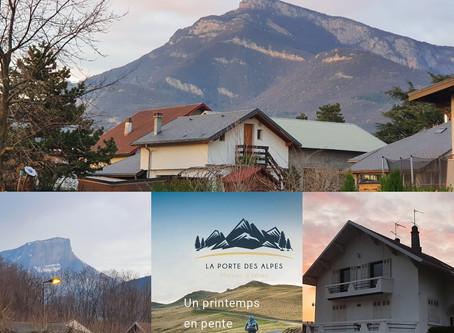 Joli coucher de soleil sur La Porte des Alpes et les massifs alpins de la cluse de Chambéry !
