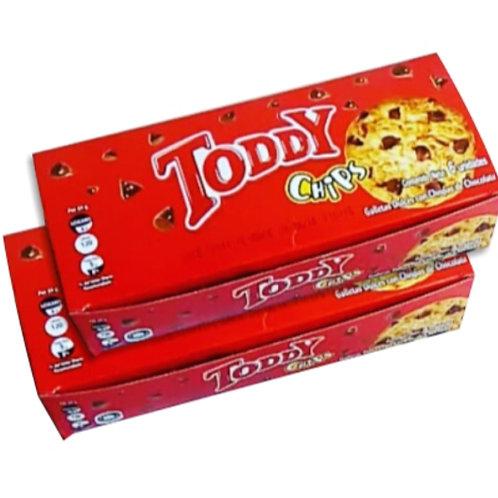 Toddy Chips Display - 6 Pk