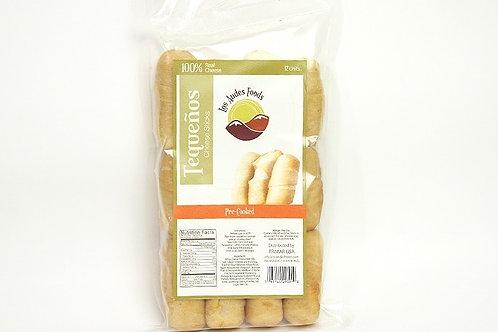White Cheese Tequeños Pre-Cooked/Tequeños de Queso Blanco Pre-Cocidos (3/12PK)