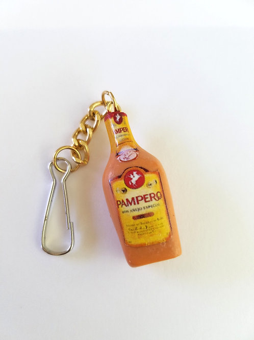Pampero Ron Keychain / Llavero Ron Pampero