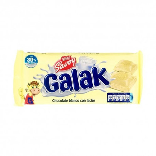 Savoy Galak White Chocolate Bar - 130g