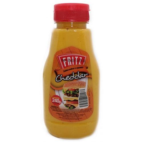 Fritz Cheddar Sauce/Fritz Salsa Cheddar - 240g