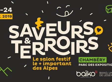 Saveurs & Terroirs l'édition 2019 se déroulera du 22 au 24 novembre 2019 !