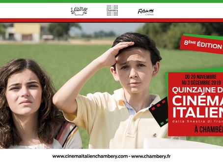 Chambéry accueille du 20 novembre au 3 décembre 2019 La Quinzaine du Cinéma Italien !