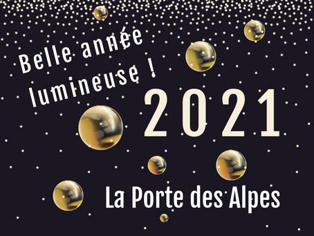 Belle année 2021 lumineuse à  tous !