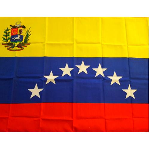 Venezuelan Flag 7 Stars (5'x3')