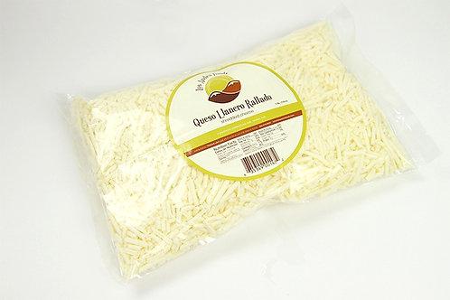 Shredded Farmer Aged Cheese/Queso Llanero Rallado - 16 Oz