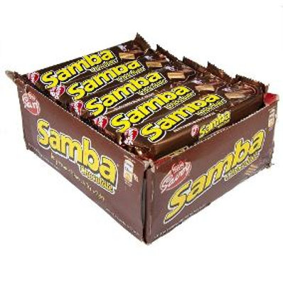 SAMBA® Chocolate Display / SAMBA® de Chocolate Caja 20pk