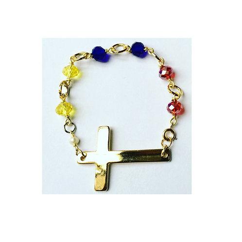 Tricolor Bracelet -Brazalete Tricolor