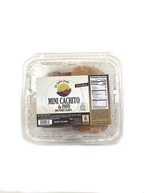 Mini Cachito Integral de Pavo (Whole Wheat Mini Turkey cachito) - 6Pk