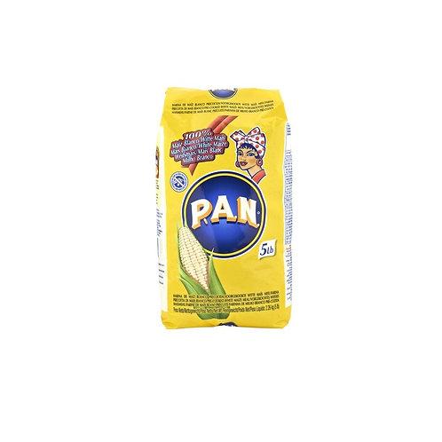 P.A.N. White Corn Flour /  Harina PAN 5Lbs