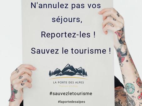 Sauvez le tourisme !