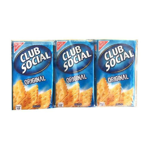 Club Social Crackers - 6 Pk