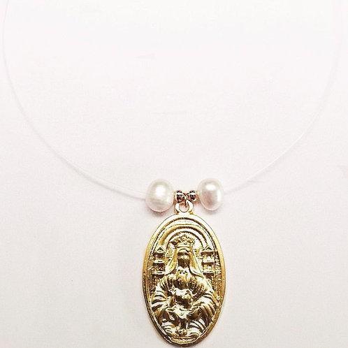 Ghost Necklace/Collar Fantasma Virgen de Coromoto