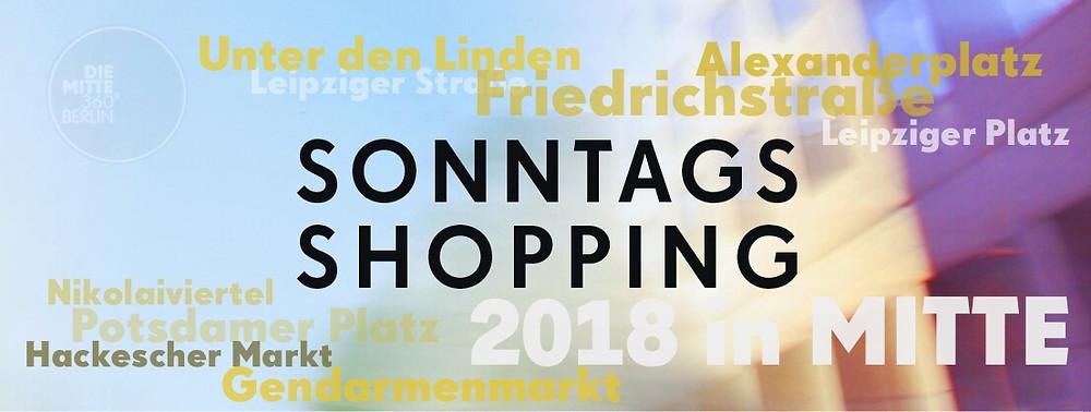 Verkaufsoffene Sonntage in Berlin 2018