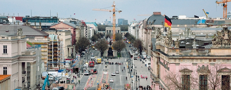 Boulevard Unter den Linden, DIE MITTE e.V.
